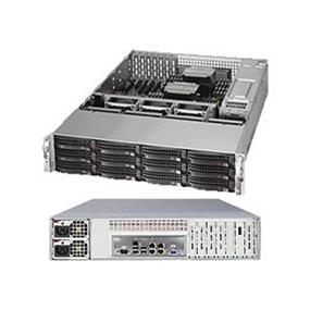 Supermicro SuperServer SYS-6027R-E1R12N Intel® Xeon® processor E5-2600 v2, DDR3 1866MHz; 24x DIMM slots