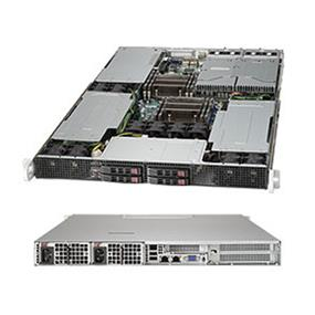 Supermicro SuperServer SYS-1027GR-TRF Intel® Xeon® processor E5-2600 v2, DDR3 1866MHz; 8x DIMM slots (SYS-1027GR-TRF)