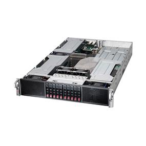 Supermicro SuperServer SYS-2027GR-TRF Intel® Xeon® processor E5-2600 v2, DDR3 1866MHz; 8x DIMM slots (SYS-2027GR-TRF)