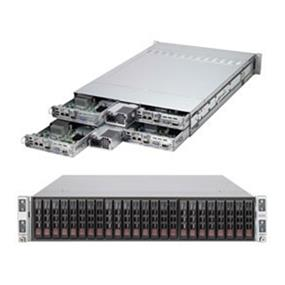Supermicro SuperServer SYS-2027TR-HTRF Intel® Xeon® processor E5-2600 v2, DDR3 1866MHz; 8x DIMM slots (SYS-2027TR-HTRF)