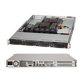 Supermicro SuperServer SYS-6017R-NTF Intel® Xeon® processor E5-2600 v2, DDR3 1866MHz; 8x DIMM slots, 2x PCI-E 3.0 x16 slots (SYS-6017R-NTF)