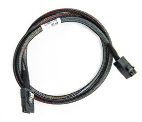 Adaptec Internal SCSI Mini Serial Cable SAS/SAS SFF-8643 Bare