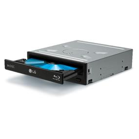 LG (UH12NS40) Internal 12X Blu-ray BD-ROM / DVD Writer, 4 MB Buffer, SATA, Playback & M-DISC