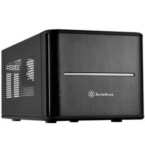 Silverstone CS280 Black Mini ITX Storage Case (SST-CS280B)