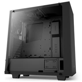NZXT S340 Elite Tempered Glass Matte Black Mid Tower (CA-S340W-B3)