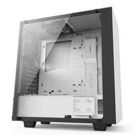NZXT S340 Elite Tempered Glass Matte White Mid Tower (S340W-W2)
