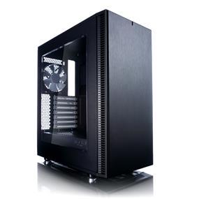 Fractal Design Define C Black Window ATX Mid Tower Case (FD-CA-DEF-C-BK-W)