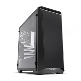 Phanteks Eclipse P400 Mid Tower Silent Case Tempered Glass Black and White (PH-EC416PSTG_BW)