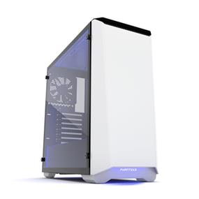 Phanteks Eclipse P400 Mid Tower Silent Case Tempered Glass White (PH-EC416PSTG_WT)
