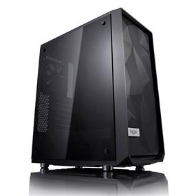 Fractal Design Meshify C Blackout Tempered Glass Window ATX Mid Tower Case (FD-CA-MESH-C-BKO-TG)