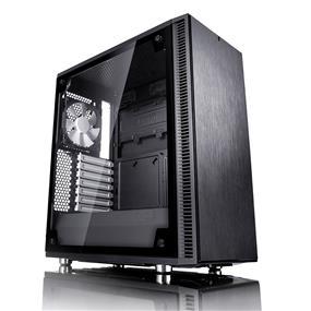 Fractal Design Define C Black Tempered Glass Window ATX Mid Tower Case (FD-CA-DEF-C-BK-TG)