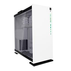 IN WIN 303C White RGB LED Tempered Glass ATX Mid Tower Case