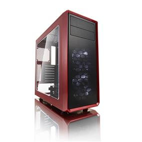 Fractal Design Focus G Mystic Red Window ATX Mid Tower Case (FD-CA-FOCUS-RD-W)