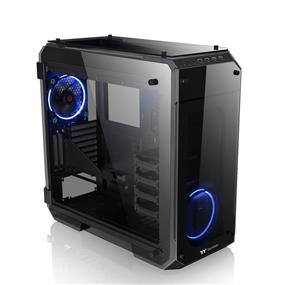 Thermaltake View 71 Black 4-Sided Tempered Glass E-ATX Black Gaming Full Tower Computer Case (CA-1I7-00F1WN-00)