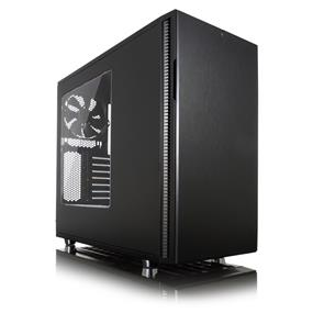 Fractal Design Define R5 Blackout Edition Window Mid Tower Case (FD-CA-DEF-R5-BKO-W)