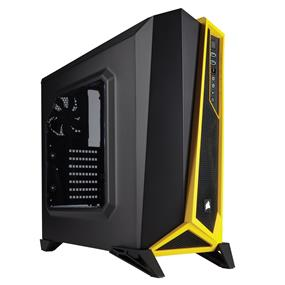 Corsair Carbide Series SPEC-ALPHA Mid-Tower Gaming Case - Black/Yellow (CC-9011094-WW)