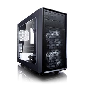 Fractal Design Focus G Mini Black Window mATX Mini Tower Case (FD-CA-FOCUS-MINI-BK-W)