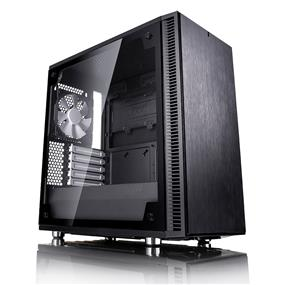 Fractal Design Define Mini C Black Tempered Glass Window mATX Mini Tower Case (FD-CA-DEF-MINI-C-BK-TG)