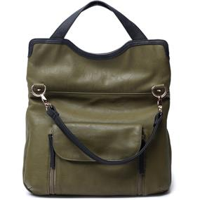 Kelly Moore Steph Army Green Camera Bag