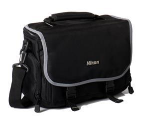 Nikon Digital SLR Gadget Bag with Padded Shoulder Strap