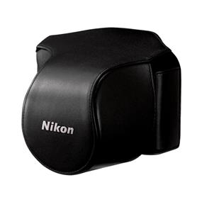 Nikon CB-N1000SA Black Leather Body Case Set