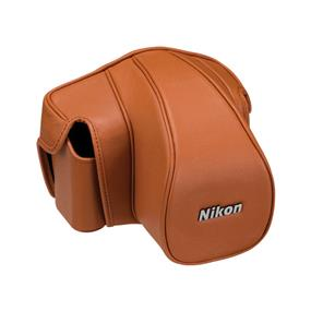 Nikon CF-DC6S Leather Case Set (Brown) - For Nikon Df