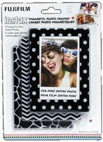 Fujifilm Instax Mini Magnetic Photo Frames (White/Black)