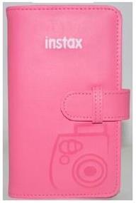 Fujifilm instax Photo Diary - Mini Album (Flamingo Pink)