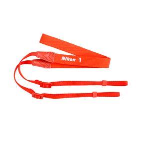 Nikon AN-N1000 Neck Strap (Orange) - for Nikon 1 series cameras