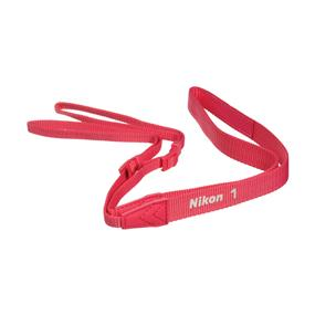 Nikon AN-N1000 Neck Strap (Pink) - for Nikon 1 series cameras
