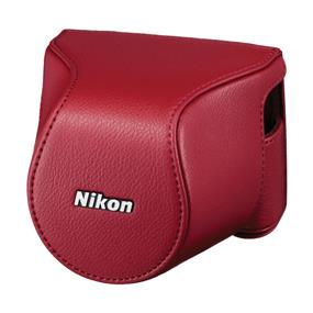 Nikon CB-N2200S Body Case Set (Red) - For Nikon 1 J3, Nikon 1 S1