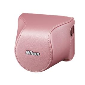 Nikon CB-N2200S Body Case Set (Pink) - For Nikon 1 J3, Nikon 1 S1
