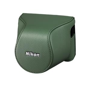 Nikon CB-N2200S Body Case Set (Khaki) - For Nikon 1 J3, Nikon 1 S1