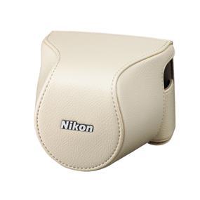 Nikon CB-N2200S Body Case Set (Beige) - For Nikon 1 J3, Nikon 1 S1