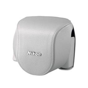 CB-N4000SB Leather Body Case Set (Black) - For Nikon 1 V2