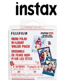 Fujifilm Instax Mini Instant Film - Holiday Bundle
