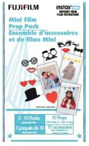 Fujifilm Instax Mini Instant Film - Mini Film Prop Pack