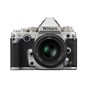 Nikon Df AF-S NIKKOR 50mm f/1.8 Lens Kit (Silver)