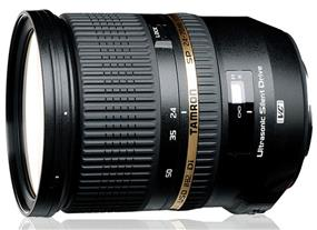 Tamron SP 24-70mm f/2.8 DI VC USD Lens for Canon Cameras (Open Box/Demo)