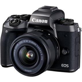 Canon EOS M5 Mirrorless Digital Camera with 15-45mm Lens