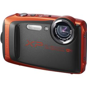 Fujifilm FinePix XP90 Digital Camera (Graphite/Orange)