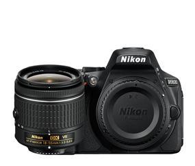 Nikon D5600 DSLR Camera With AF-P DX NIKKOR 18-55mm f/3.5-5.6G VR Kit (Black)