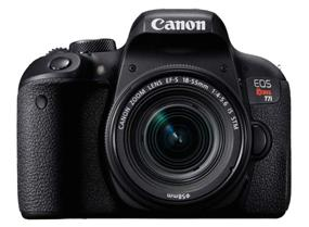 Canon EOS Rebel T7i Kit with EF-S 18-55mm f/3.5-5.6 IS STM lens ** FREE Camera Bag. See Stores for More Details **