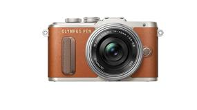 Olympus PEN E-PL8 (Brown Body w/ Silver Lens -Kit)