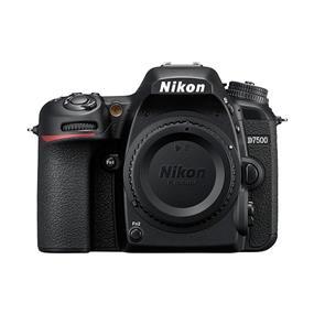 Nikon D7500 DX-Series DSLR (Body only - Black)