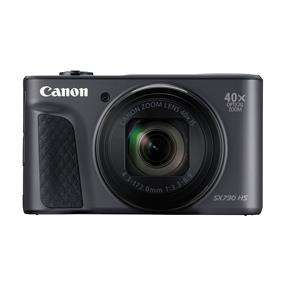 Canon PowerShot SX730 HS Wi-Fi 20.3 MP 40X Optical Zoom Digital Camera with Case (Black)