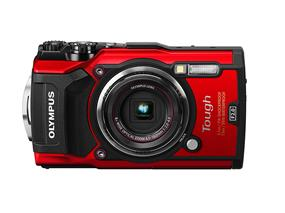 Olympus Tough TG-5 Waterproof Digital Camera with 3-Inch LCD - Red (TG5RD)