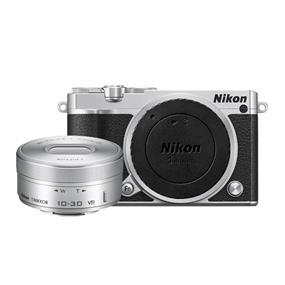 NIKON 1 J5 Kit with 1 NIKKOR 10-30mm f/3.5-5.6 PD-Zoom Lens (Silver)