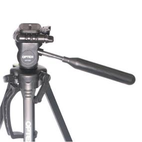 Optex OPT357 Full Height Tripod with 3-Way Photo \ Video Panhead - Black