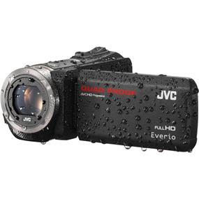 JVC  GZ-R320 - Quad-Proof HD Camcorder (Black)